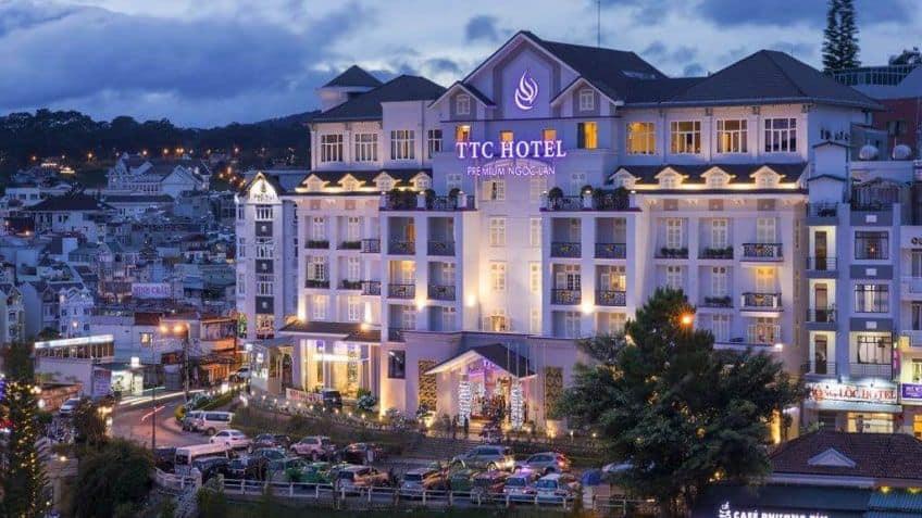 khách sạn TTC Hotel Premium - Ngọc Lan gần chợ đà lạt