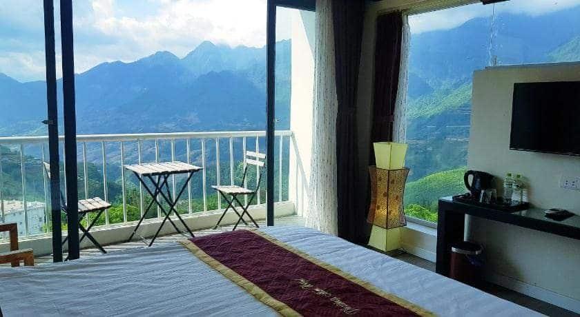 khách sạn ở sapa view đẹp