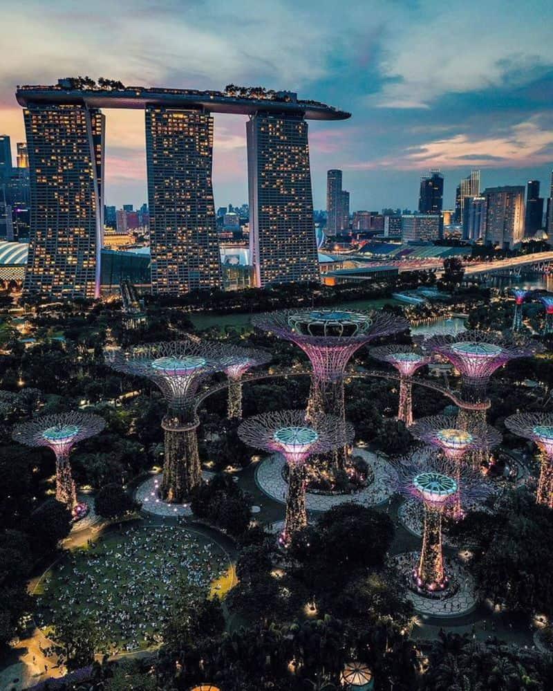 Các trung tâm mua sắm lớn ở Singapore
