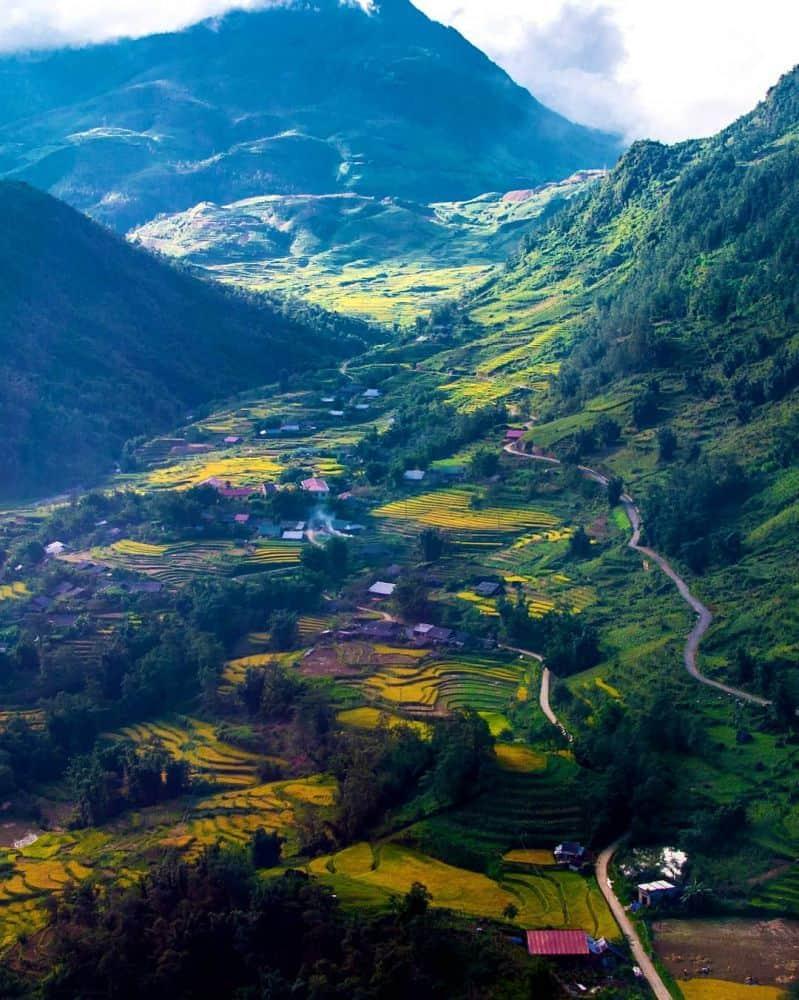 Hình ảnh núi rừng Sapa tuyệt đẹp