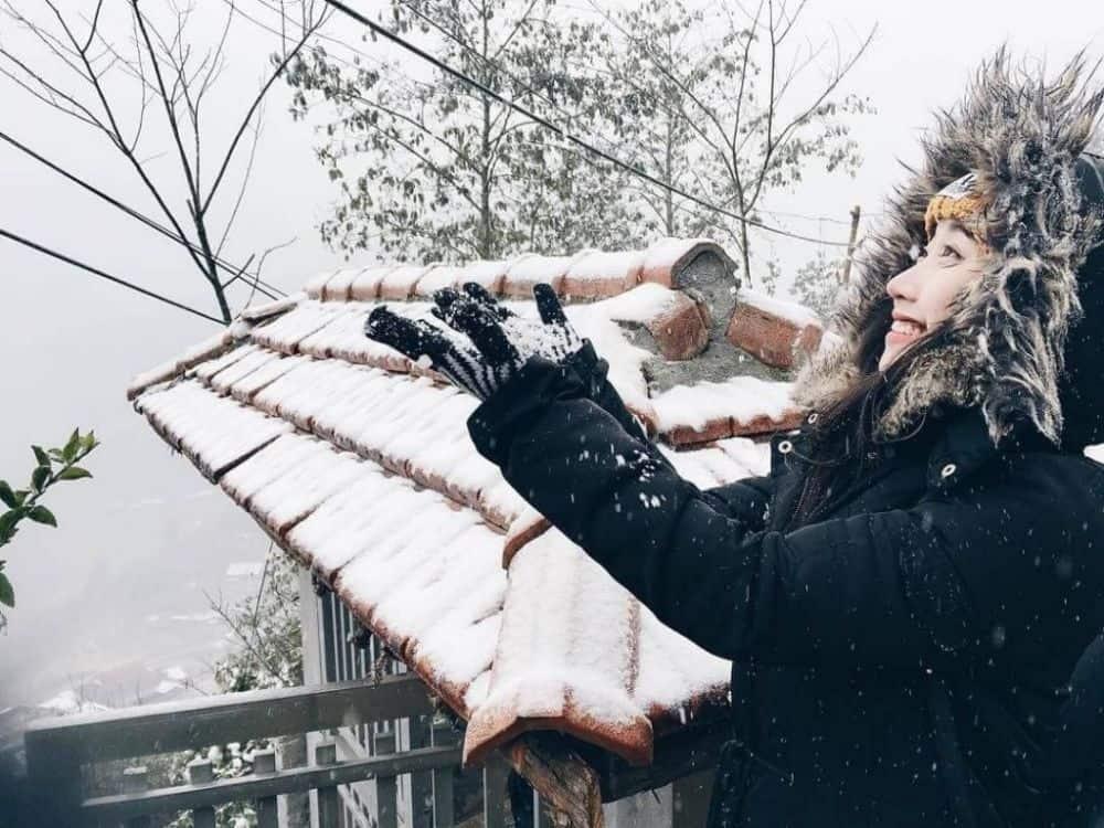 Đi du lịch mùa đông sapa