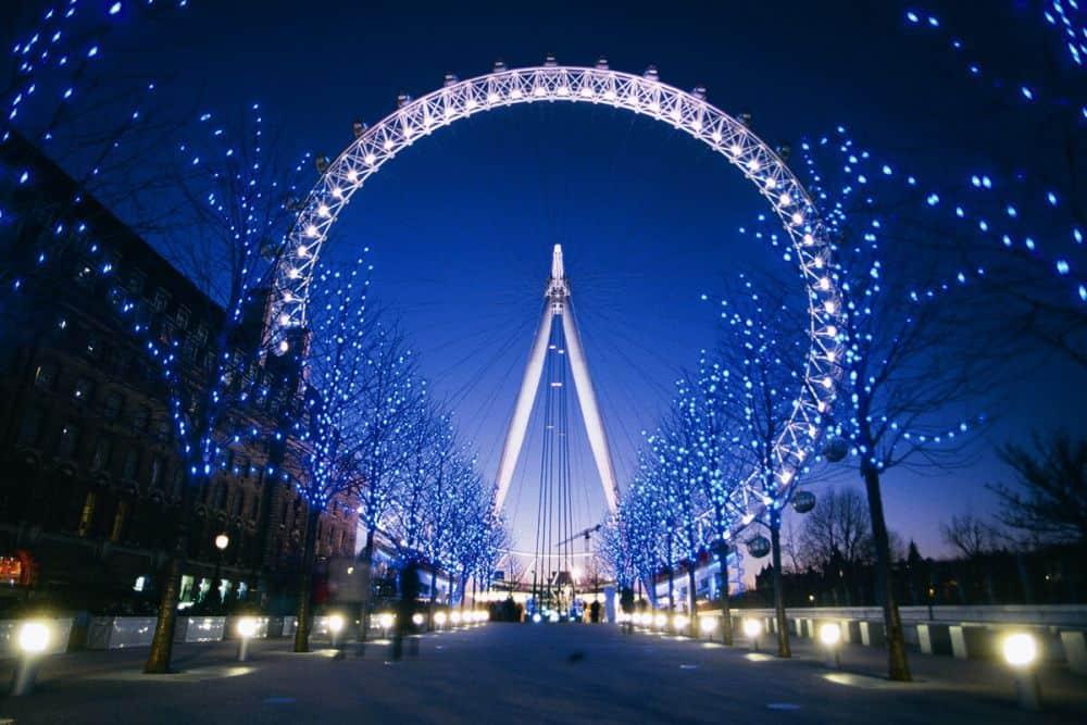 Vòng đu quay khổng lồ London Eye