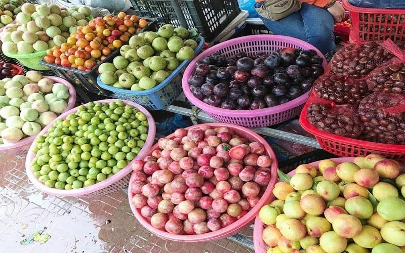 Thưởng thức trái cây tươi vào mùa hè ở Sapa