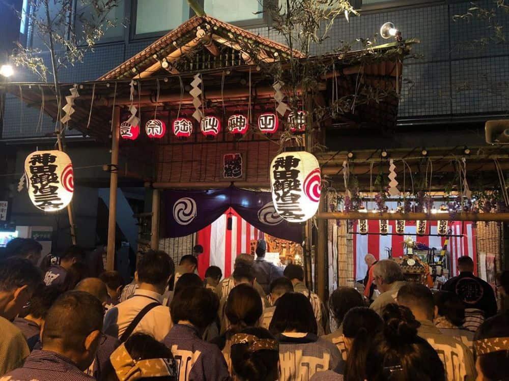 Một nhà hàng trong khu phố ẩm thực Kanda