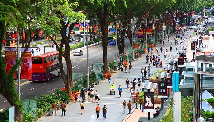 khu Orchard Road