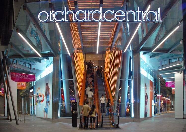 khu Orchard Road Singapore