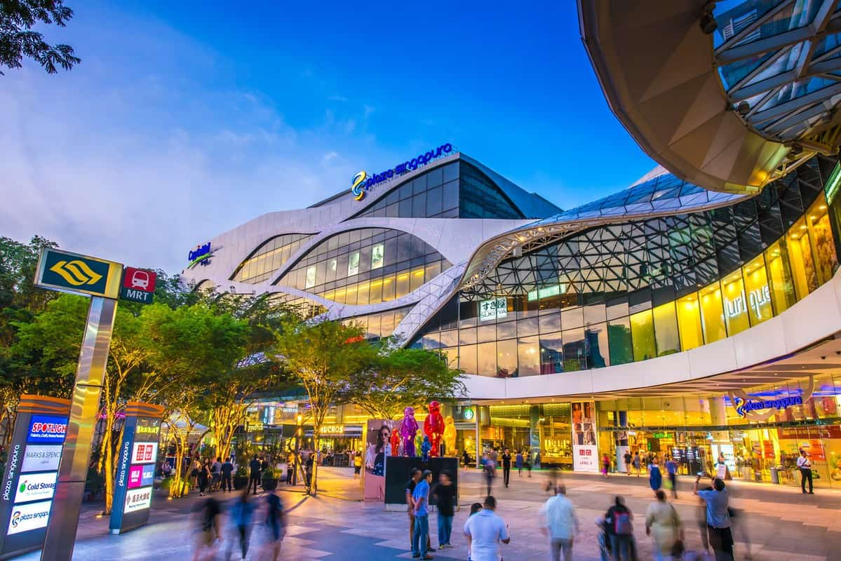 khu Orchard Road ở singapore