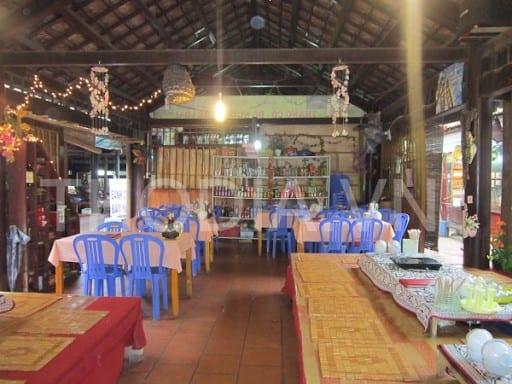 không gian quán ăn nổi tiếng ở Sapa
