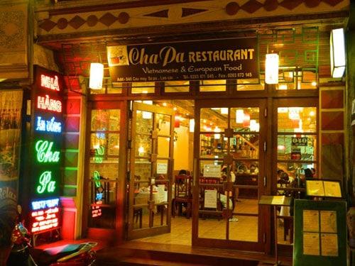 nhà hàng Champa