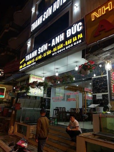 quán ăn ngon ở thị trấn Sapa