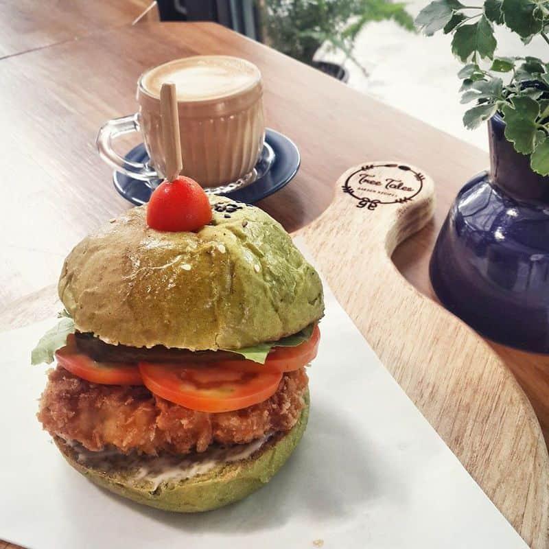 Món hamburger