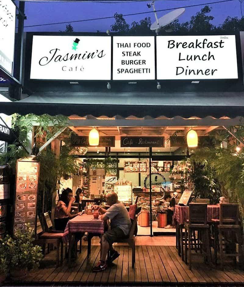 Jasmin's café - Quán cafe đẹp ở Pattaya