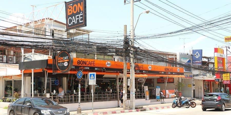 Bon Cafe - Quán cafe đẹp ở Pattaya