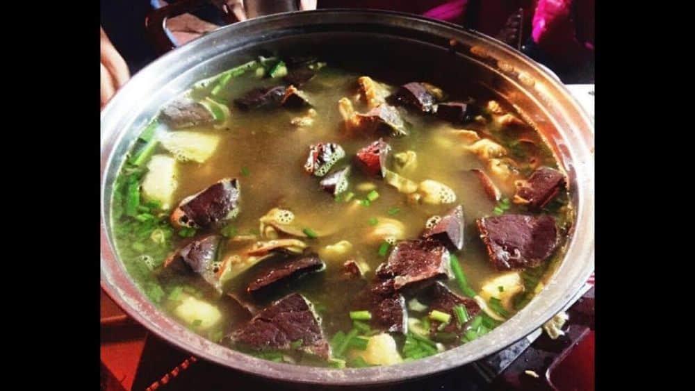 Review nhà hàng rừng xanh Sapa