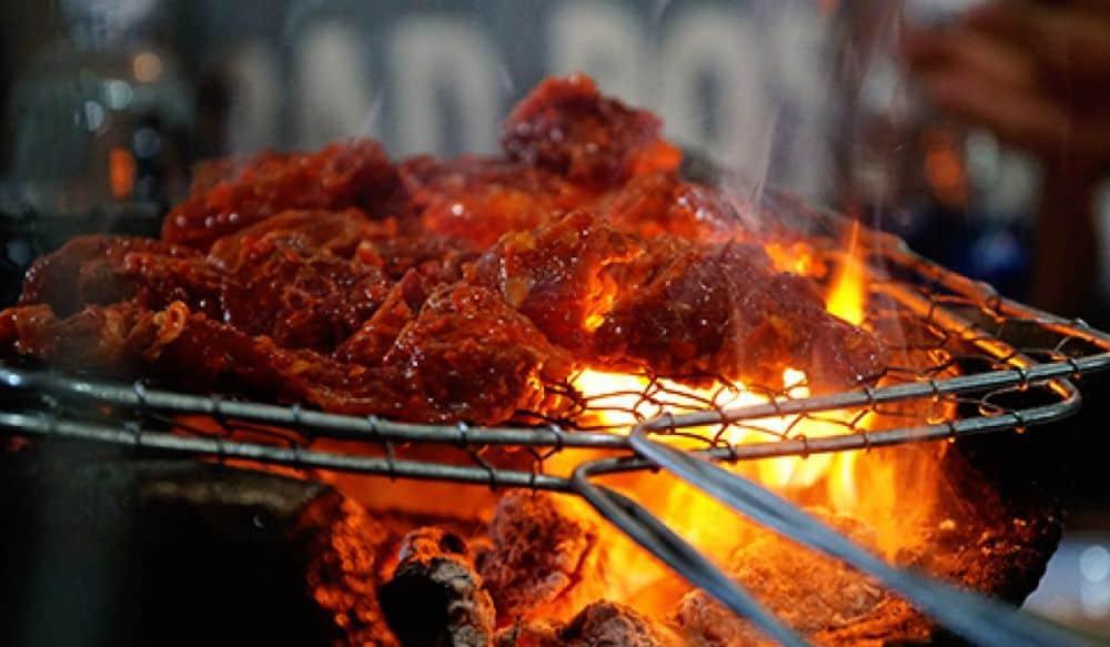 Quán thịt rừng ở Đà Lạt Rừng thông quán