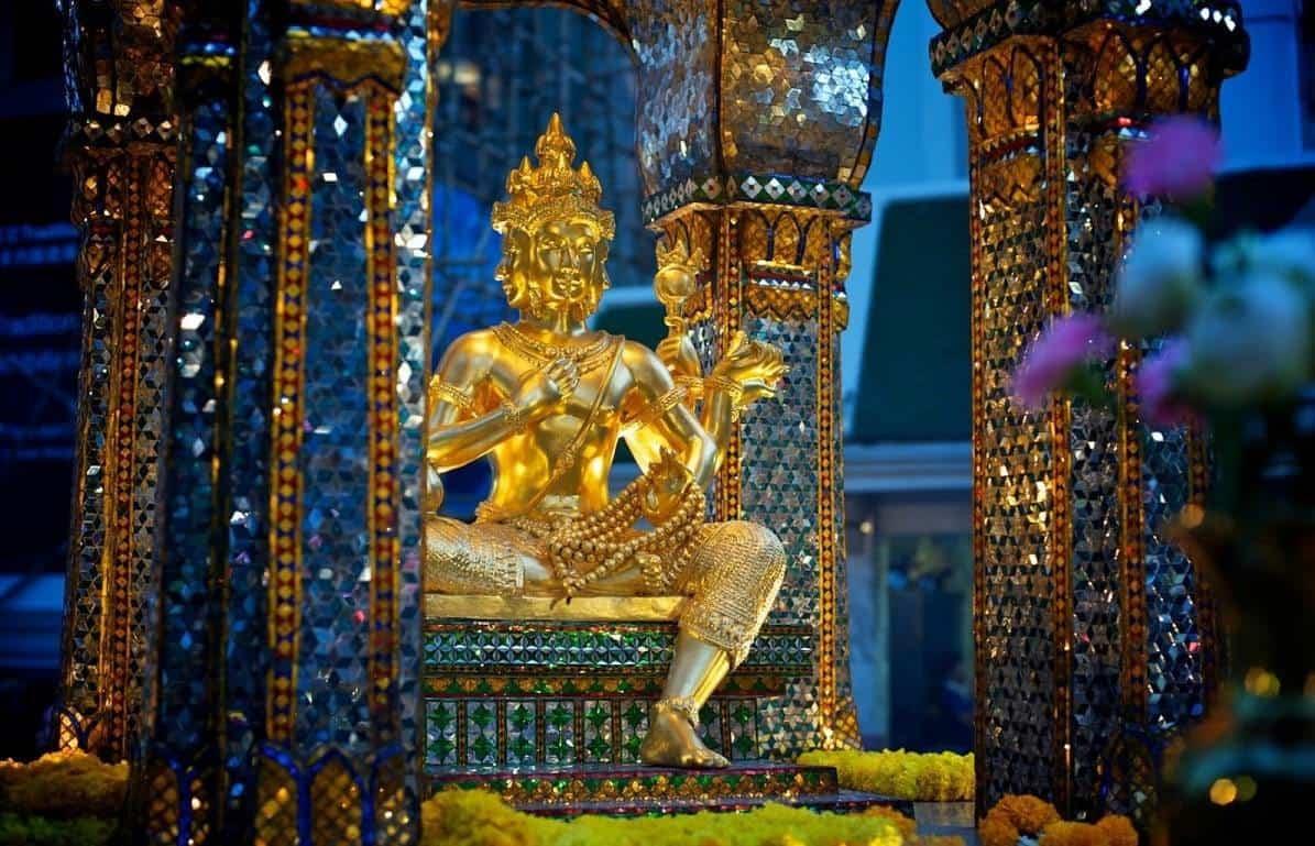 san phra phrom bangkok