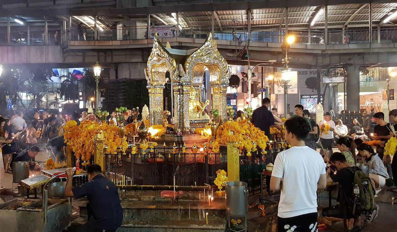 san phra phrom ở bangkok