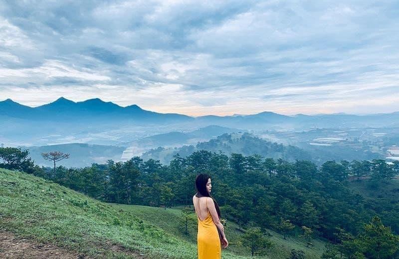 Săn mây tuyệt đẹp trên đồi Thiên Phúc Đức