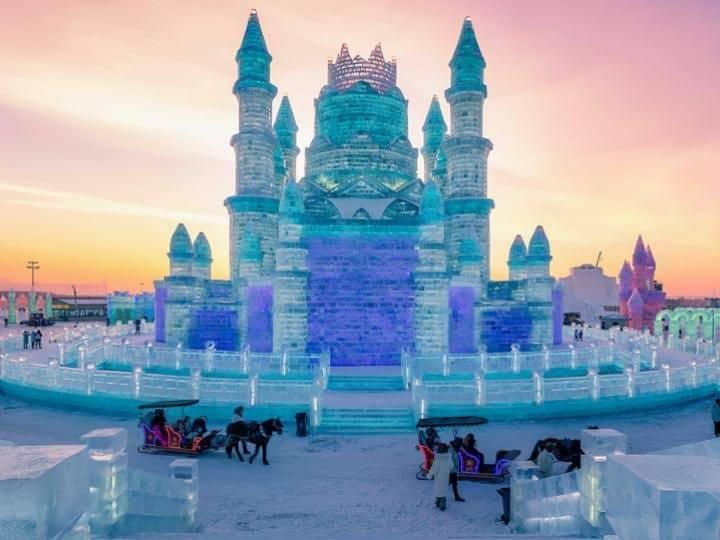 Tour Cáp Nhĩ Tân Thiên Đường Tuyết Trắng