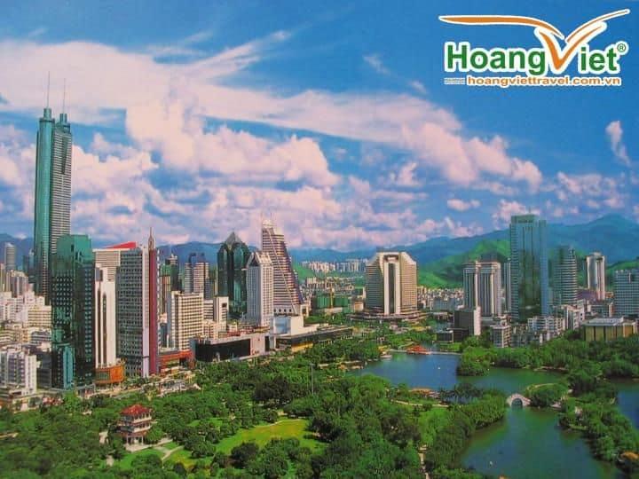 Hà Nội - Hồng Kông - Quảng Châu - Thẩm Quyến