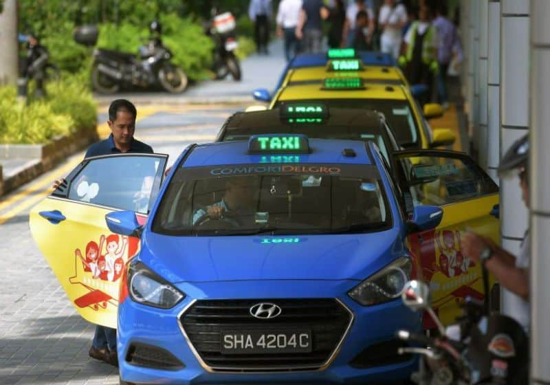 taxi ở singapore