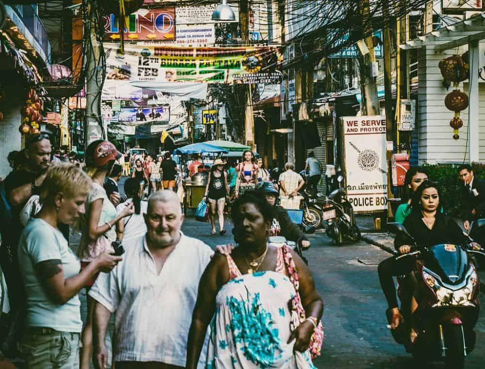 Walking Street Pattaya tại Thái Lan