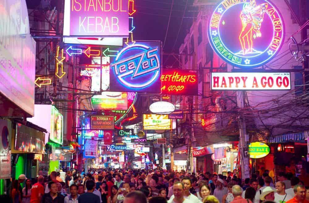 Walking Street Pattaya Thái Lan