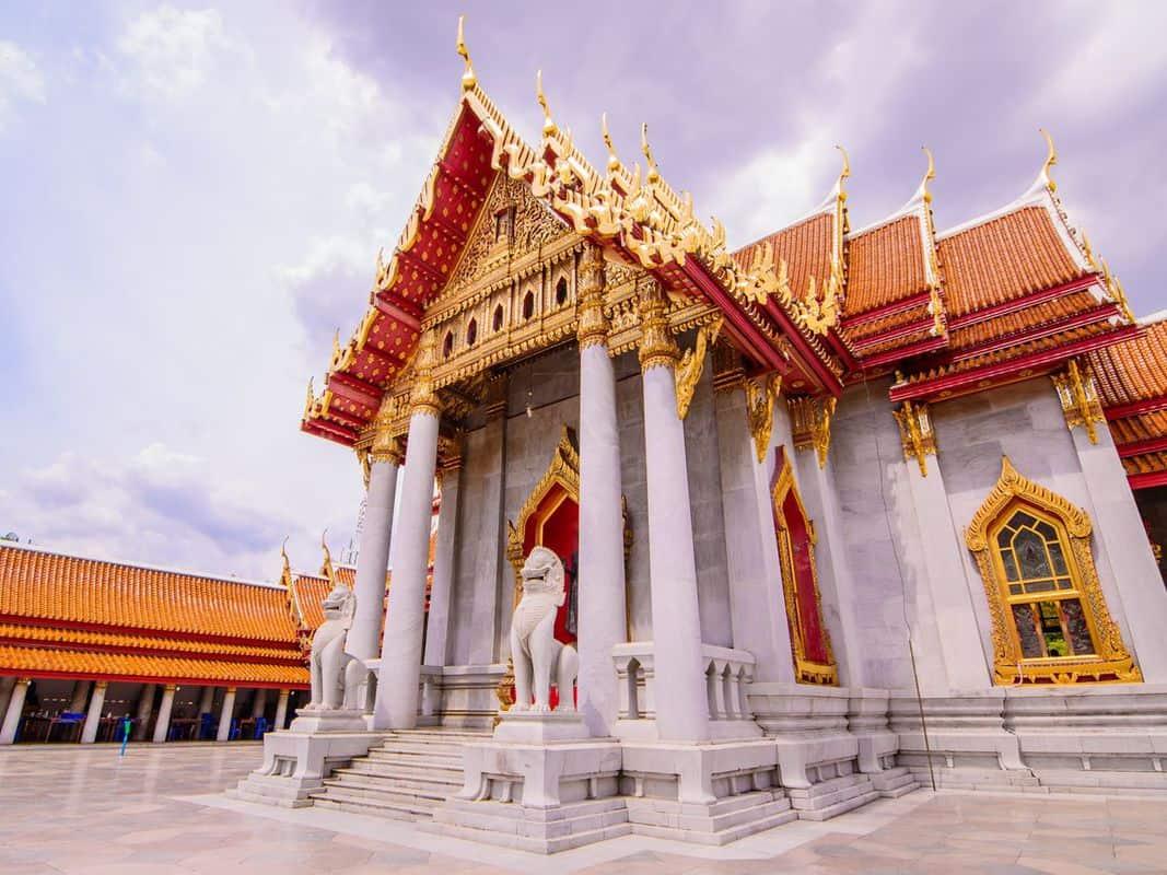 chùa Wat Benchamabophit Thái Lan