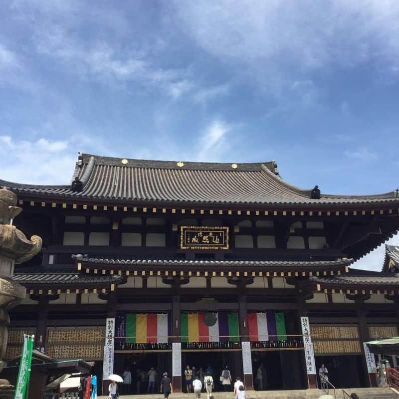 Kawasaki-daishi là ngôi chùa nổi tiếng thu hút nhiều người đến viếng chùa đầu năm mới