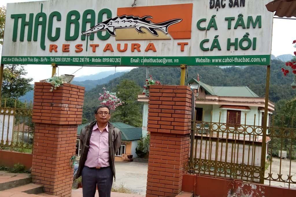 Nhà hàng Thác Bạc ở Sapa