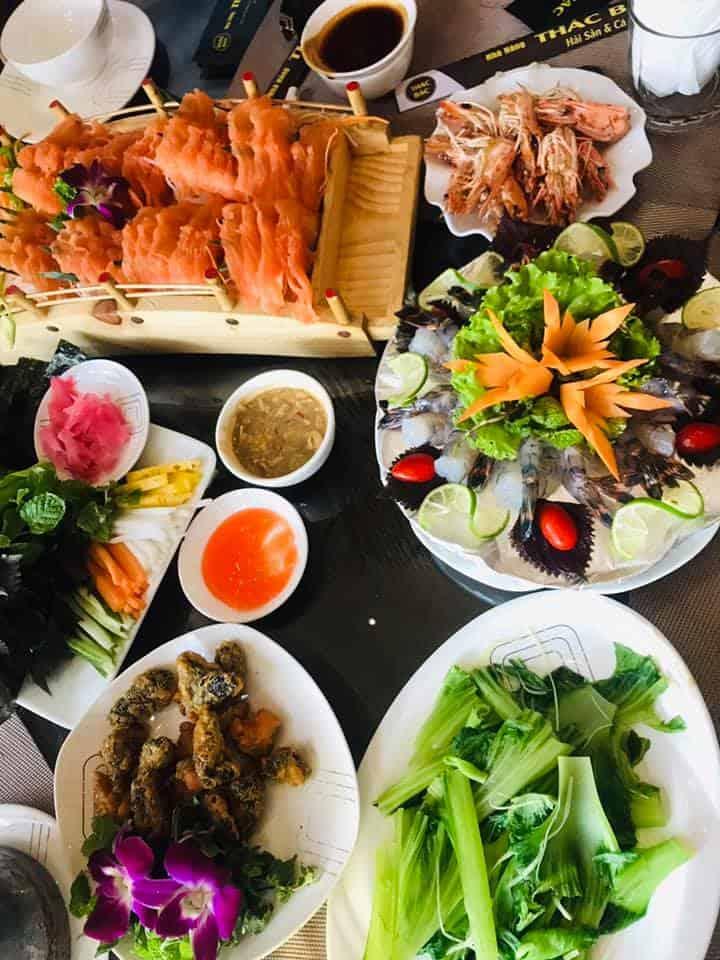 Các món ăn của nhà hàng