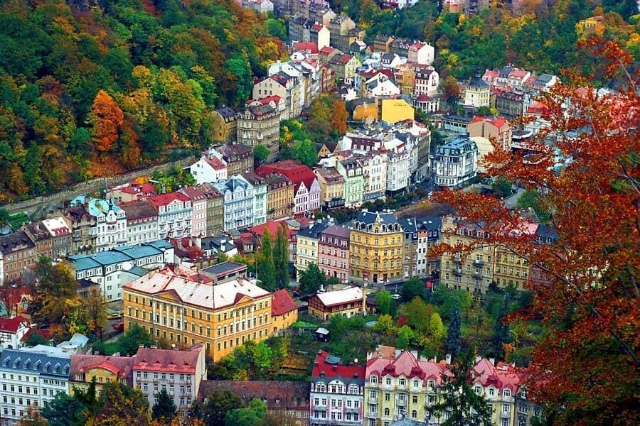 thành phố điện ảnh Karlovy Vary