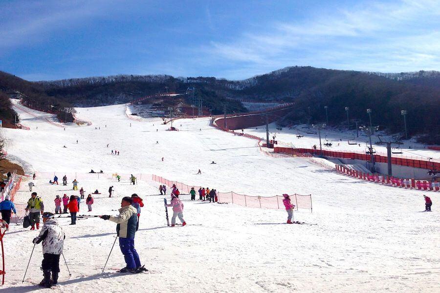 Khu Trượt Tuyết Yangjipin