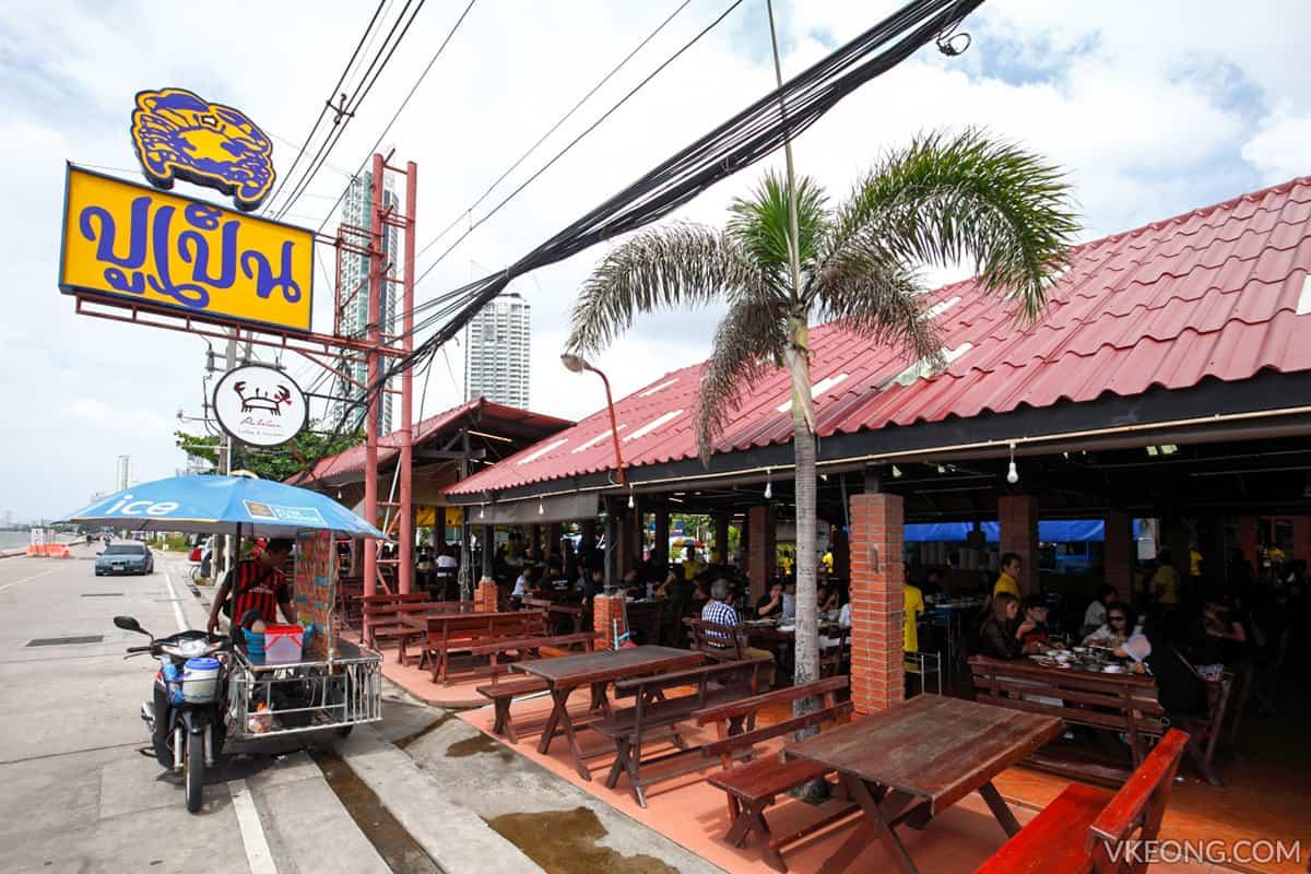 ăn hải sản ở Pattaya