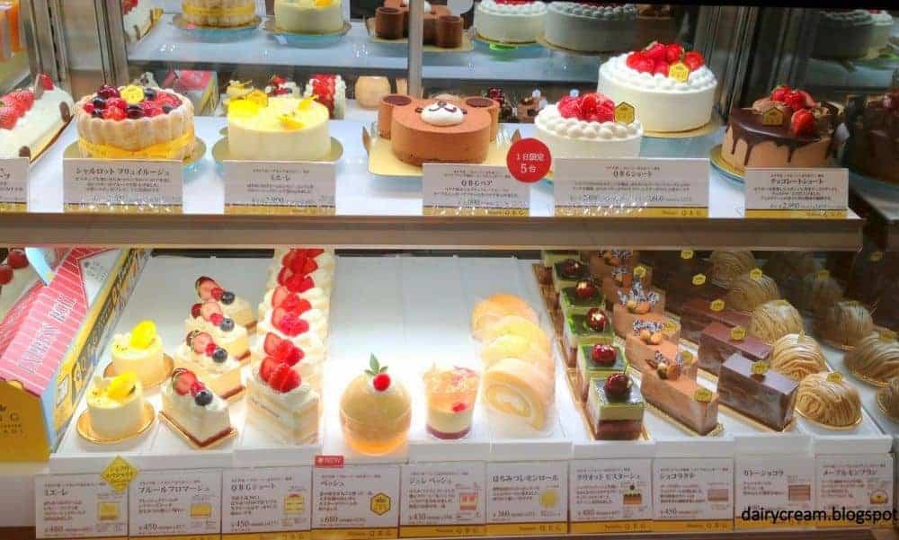 Bánh ngọt ở Singapore