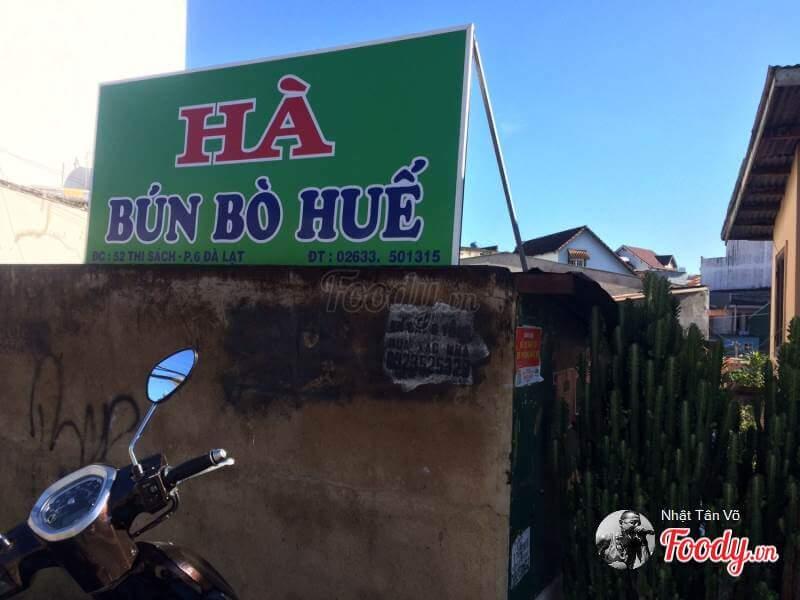 Bún bò Huế Hà