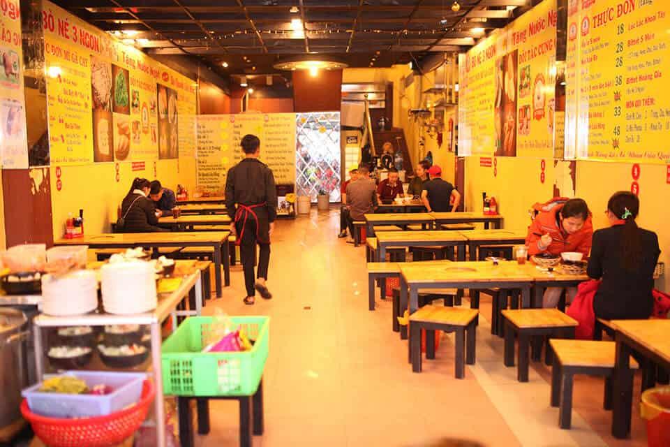 quán cháo ếch Singapore Đà Lạt