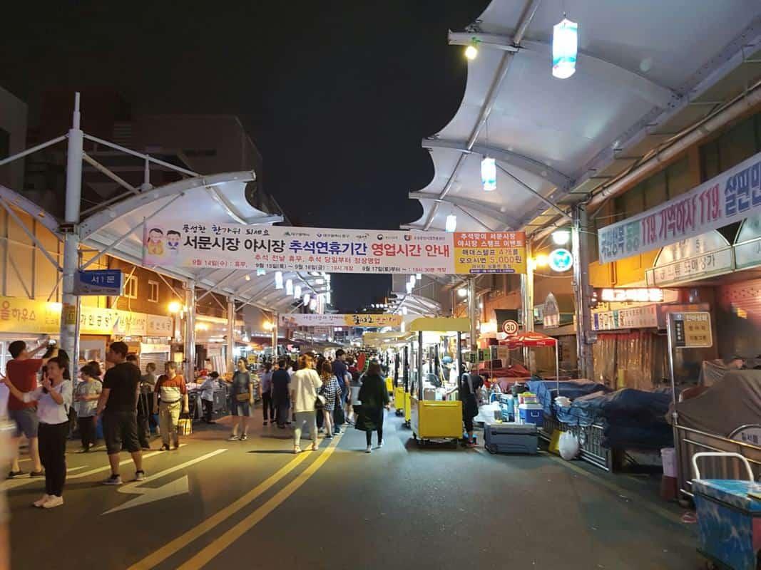 Chợ Seomun tại Daegu