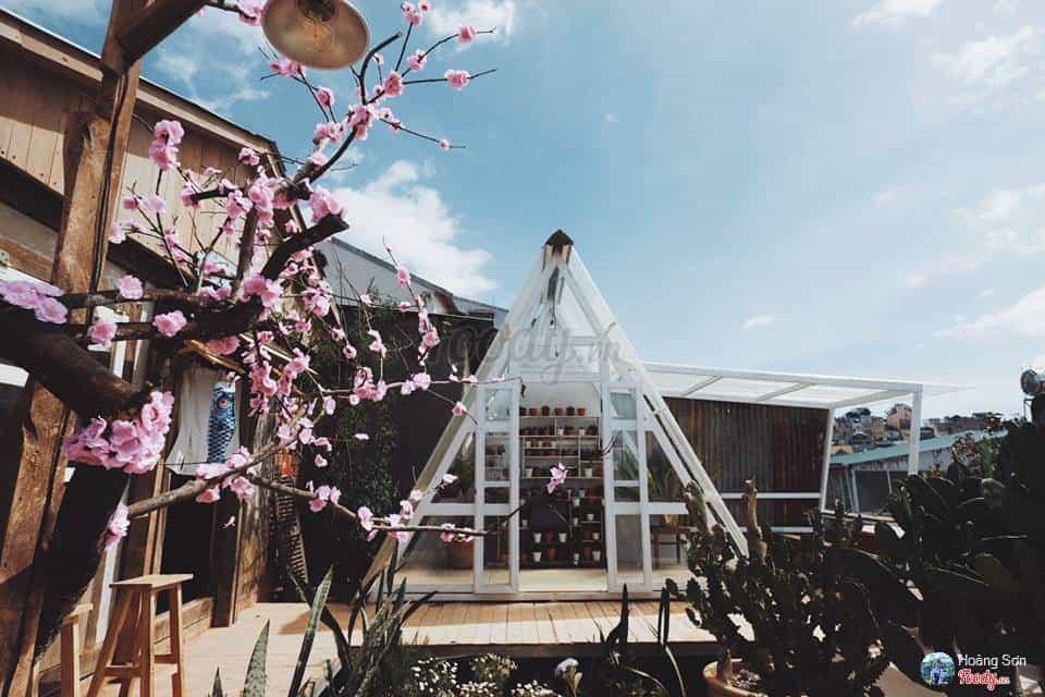 Cafe Vườn Yên trang trí theo phong cách Nhật