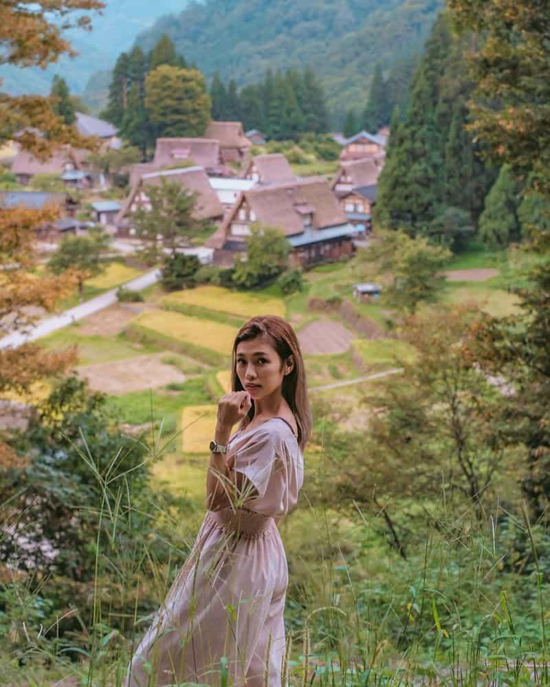 Làng Cổ Nhật Bản Mùa Đông