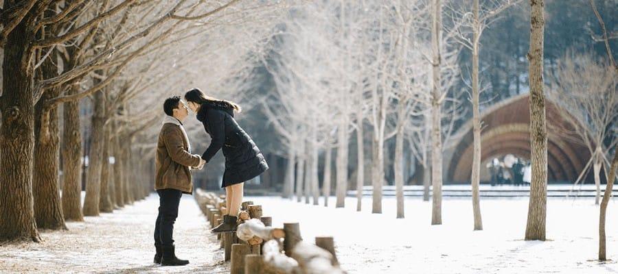 Cảnh đẹp mùa đông ở Hàn Quốc