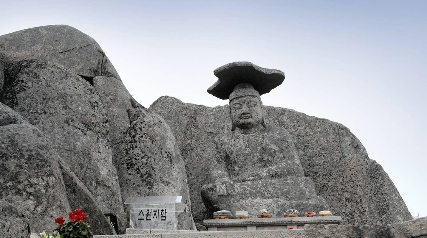 Tượng phật Gatbawi tại Hàn Quốc