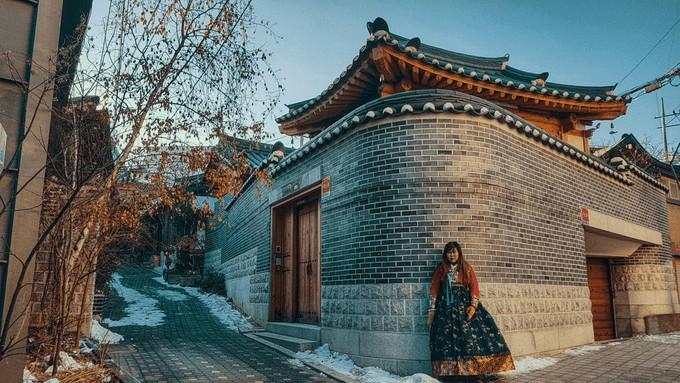 Cảnh đẹp Hàn Quốc mùa đông