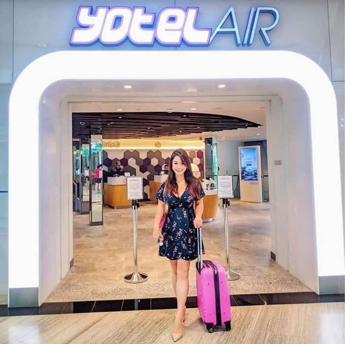Khách sạn Yotelair là nơi lý tưởng để hành khách nghỉ ngơi, thư giãn trong thời gian chờ chuyến hoặc quá cảnh