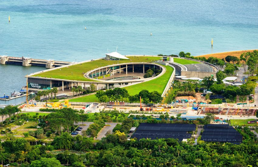 Đập nước marina ở Singapore