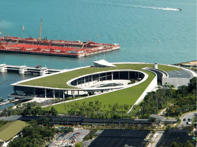 Đập nước Marina Barage Singapore