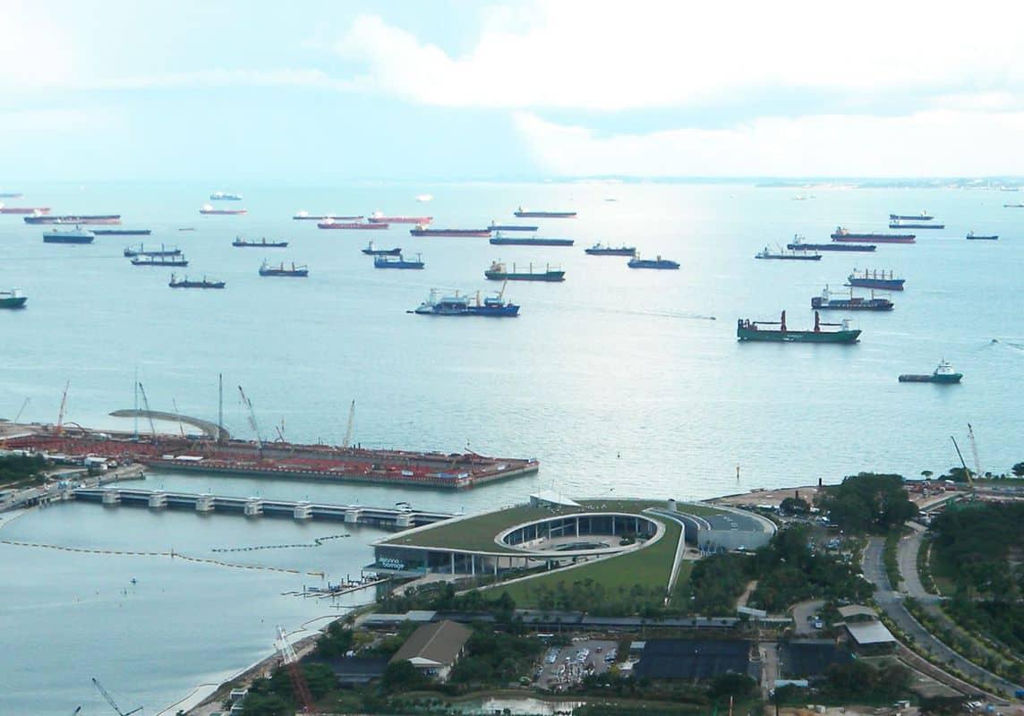 Đập nước marina tại Singapore