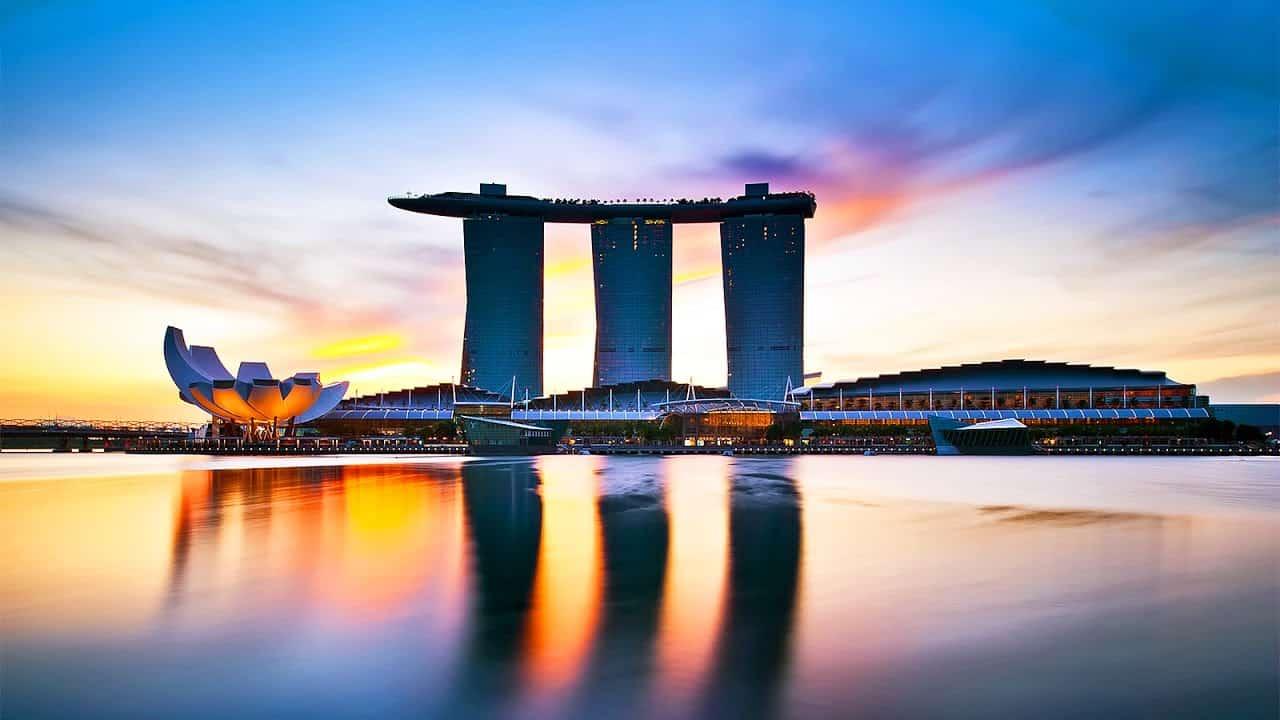 Cách đi đến Marina Bay Sands
