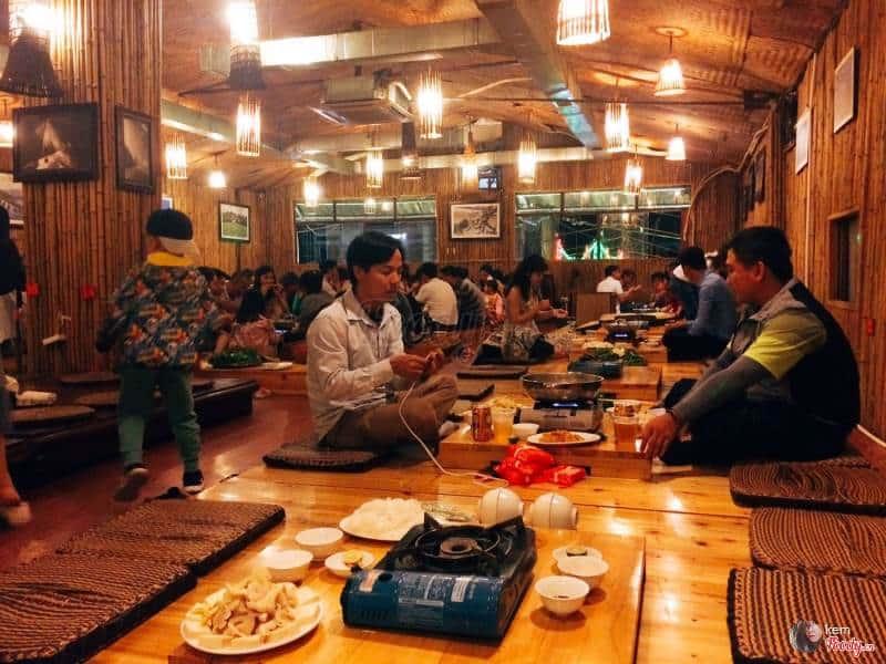 Nhà hàng Song Nhi – Quán cá hồi ngon ở Sapa