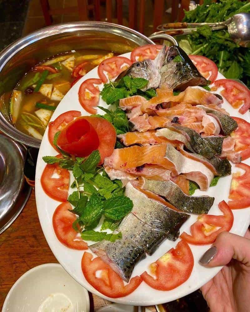 Nhà hàng cá hồi Sapa chất lượng